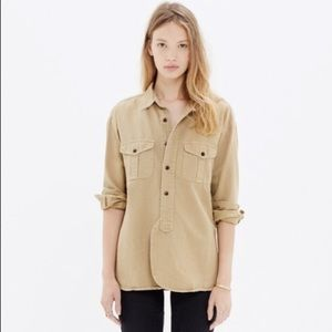 | Madewell | cargo workshirt